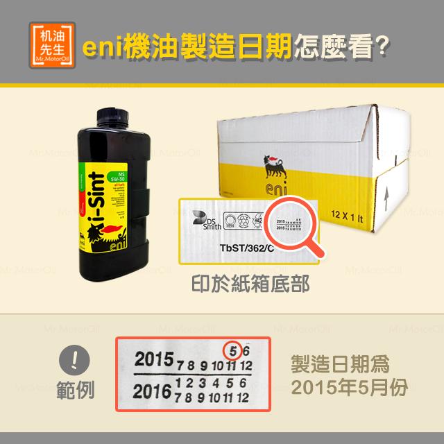 【產品問題】ENI製造日期怎麼看(義製)