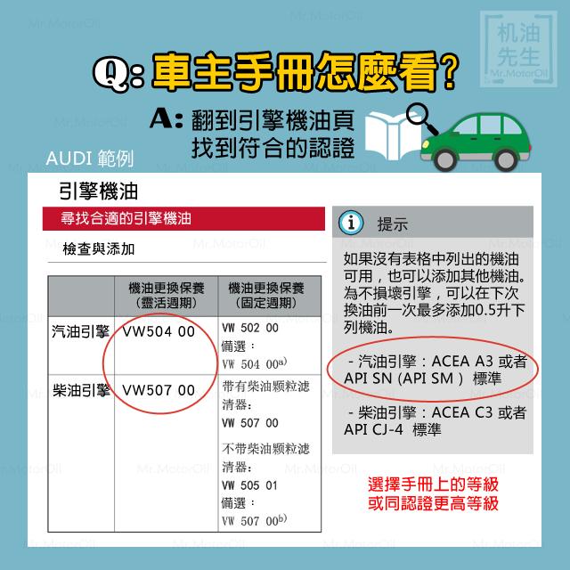 認證教學02-6-車主手冊怎麼看-AUDI-奧迪